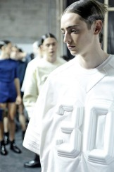 Ben Waters @ Juun.J SpringSummer 2014 BACKSTAGE